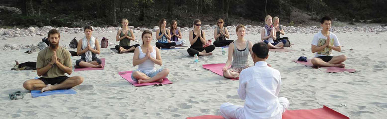 Yoga-Meditation in the Himalayas